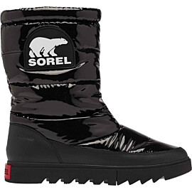 sorel joan of arctic next lite mid puffy snowboots dames black