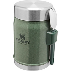 stanley pmi legendary lunchbeker 400 ml hammertone green