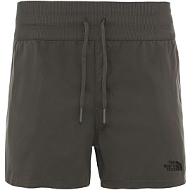 the north face aphrodite short dames new taupe green