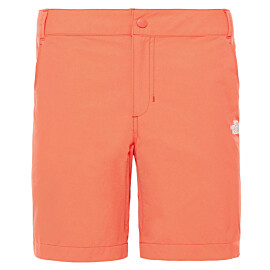 the north face exploration short dames juicy red