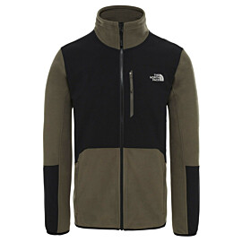 the north face glacier pro fleece vest heren new taupe green