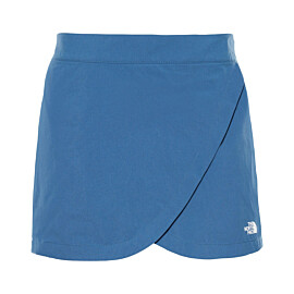 the north face inlux skort dames blue wing teal