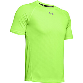 under armour qualifier hardloopshirt heren lime light