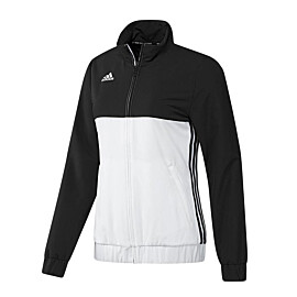 adidas t16 team jacket trainingsjack dames black