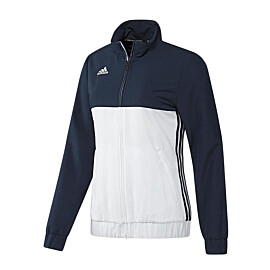 adidas t16 team jacket trainingsjack dames navy