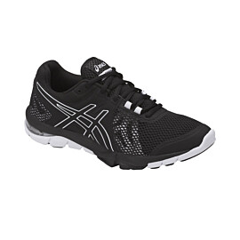 asics gel-craze tr 4 s755n fitness schoenen dames black white