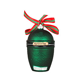 big green egg kerstbal