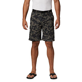 Columbia Silver Ridge short heren black camo