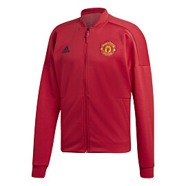 adidas manchester united z.n.e. trainingsjack real red