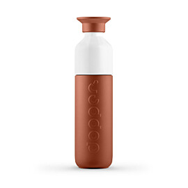 dopper insulated drinkfles 350 ml terracotta tide