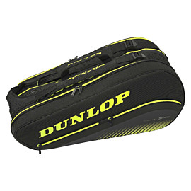 dunlop sx performance 8 racket thermo tennistas black yellow