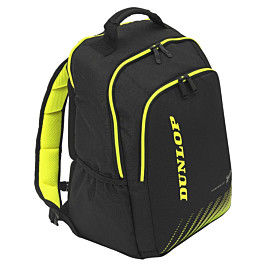 dunlop sx performance backpack tennistas black yellow