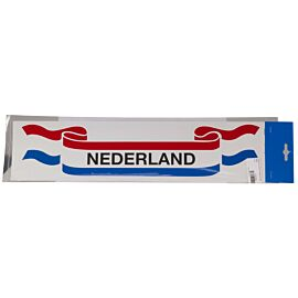 schutz lint met nationale vlag sticker nederland