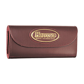 harrows darts leather 4 fold etui