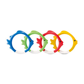 intex underwater fish rings opduikringen