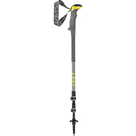 leki sherpa lite xtg wandelstok middle grey yellow white