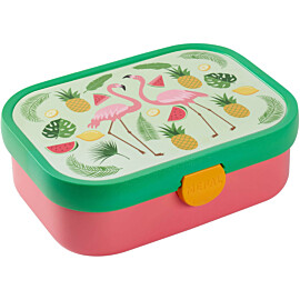 mepal campus lunchbox tropical flamingo