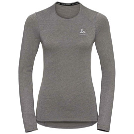 odlo active thermic thermoshirt dames grey melange