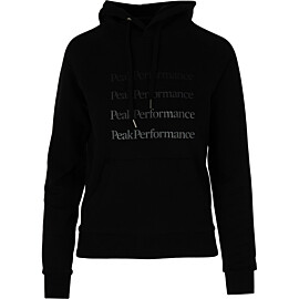 Peak Performance Ground hoodie dames black