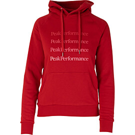 Peak Performance Ground hoodie dames the alpine