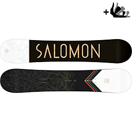 Salomon Sight Wide 20-21 snowboard met Rhythm bindingen