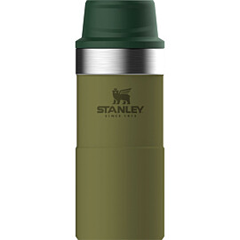 Stanley PMI Classic Trigger-Action Travel thermosbeker 350 ml olive drab