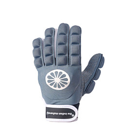 the indian maharadja glove shell foam full left hockeyhandschoen denim