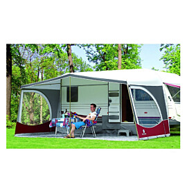 walker weekender caravanluifel glasfiber frame bordeaux