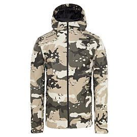 The North Face Millerton outdoor jack heren peyote beige woodchip camo print