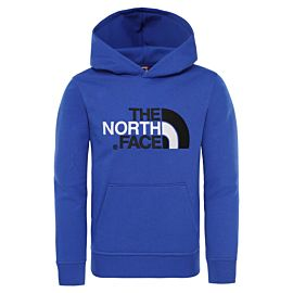 The North Face Drew Peak hoodie junior tnf blue tnf black