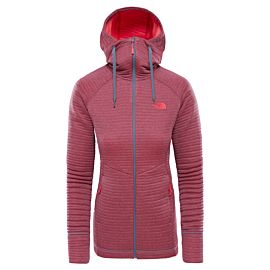 The North Face Hikesteller vest dames grisaille gry atomic pink