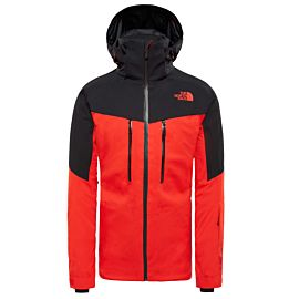 The North Face Chakal winterjas heren fiery red tnf black