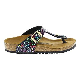 Birkenstock Gizeh slippers junior oriental mosaic black