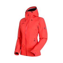 Mammut Convey Tour Hooded outdoor jack dames barberry