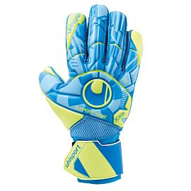 Uhlsport Control Soft SF keepershandschoenen blue fluo yellow