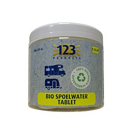 123 Products Bio toilet spoelwater tabletten