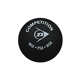 Dunlop Competition squashbal black
