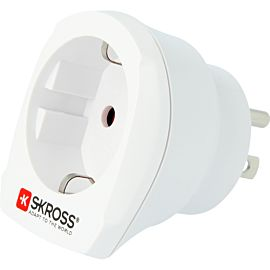 SKROSS Country Adapter VS wereldstekker wit