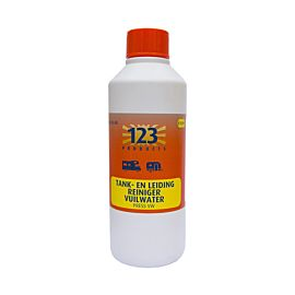 123 Products Press vuilwatertank en -leiding reiniger 1 l