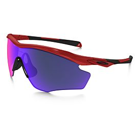 Oakley M2 Frame XL Positive Red Iridium fietsbril heren redline