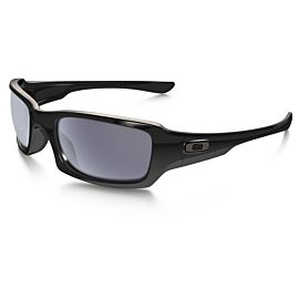 Oakley Fives Squared Gray zonnebril heren polished black