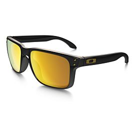 Oakley Holbrook 24K Iridium zonnebril heren polished black