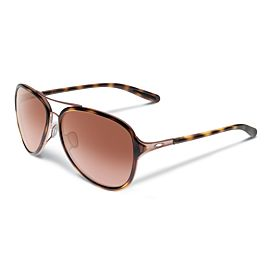 Oakley Kick Back Vr50 Brown Gradient zonnebril dames satin rose gold