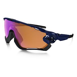 Oakley Jawbreaker Prizm Trail fietsbril heren polished navy