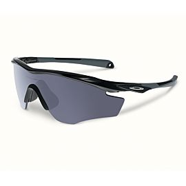 Oakley M2 Frame XL Gray fietsbril heren polished black