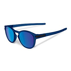 Oakley Latch Sapphire Iridium zonnebril heren matte translucent blue