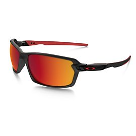 Oakley Carbon Shift Torch Iridium Polarized zonnebril heren matte black