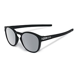 Oakley Latch Machinist Collection Chrome Iridium zonnebril heren matte black