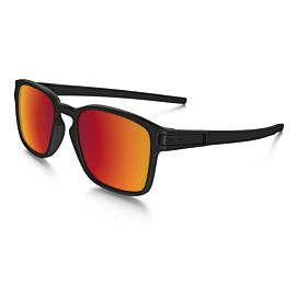 Oakley Latch Square Torch Iridium zonnebril heren matte black