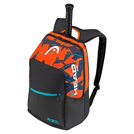 Head Radical Backpack tennistas zwart oranje